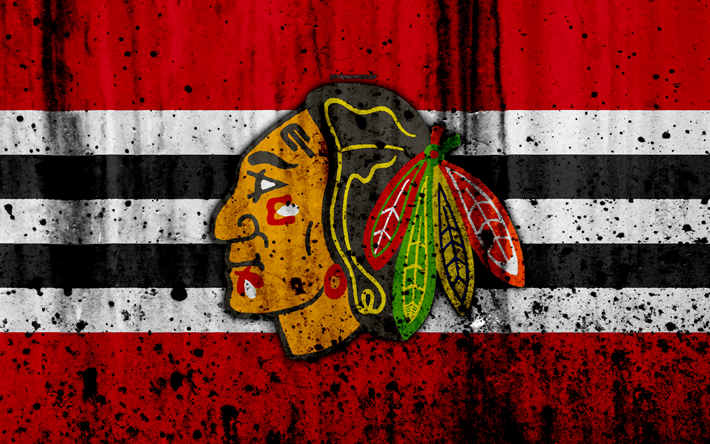 Download wallpapers 4k chicago blackhawks grunge nhl hockey art 4k chicago blackhawks grunge nhl hockey art western conference voltagebd Image collections