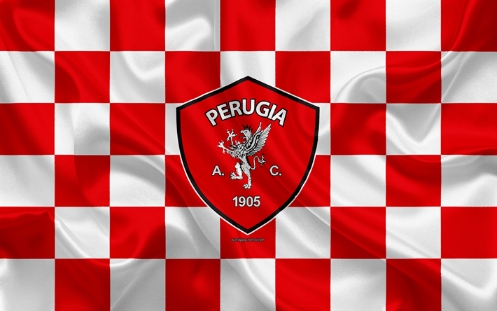 Download wallpapers AC Perugia Calcio, 4k, logo, creative ...