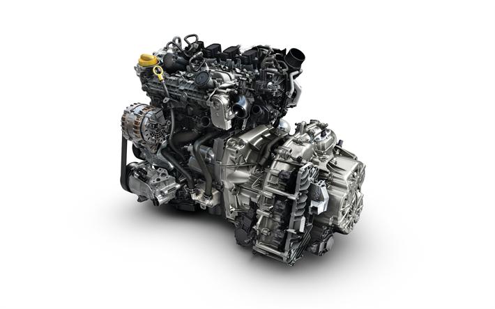 Herunterladen hintergrundbild moderner motor, renault, kfz-teile ...