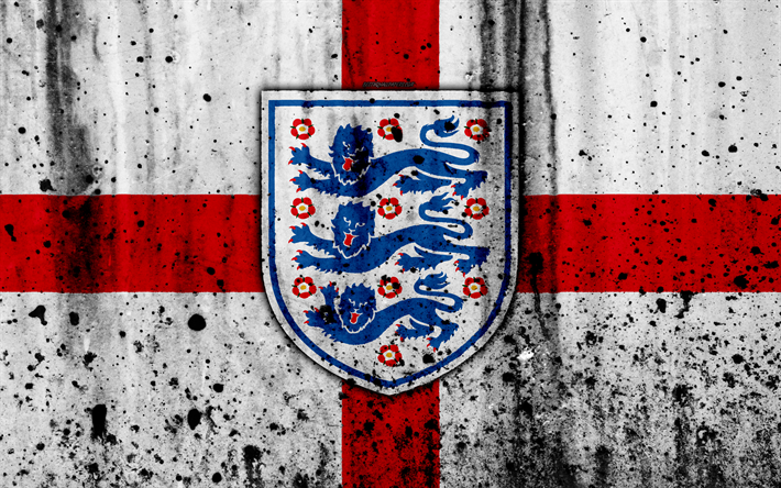 Download Wallpapers England National Football Team 4k