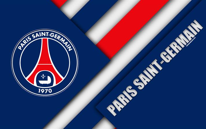 American Sports Material Wallpapers: Download Wallpapers Paris Saint-Germain, 4k, Material