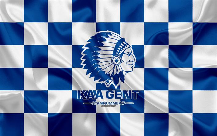 Descargar Fondos De Pantalla Kaa Gent 4k Logotipo