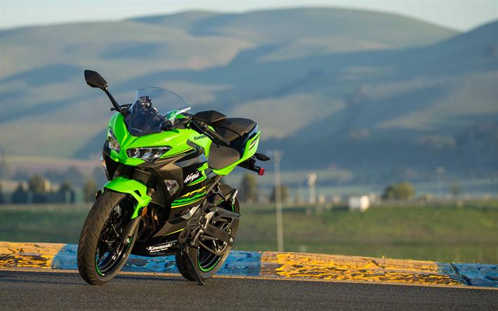 Download Imagens 4k, Kawasaki Ninja 400, Sbk, 2018 Motos