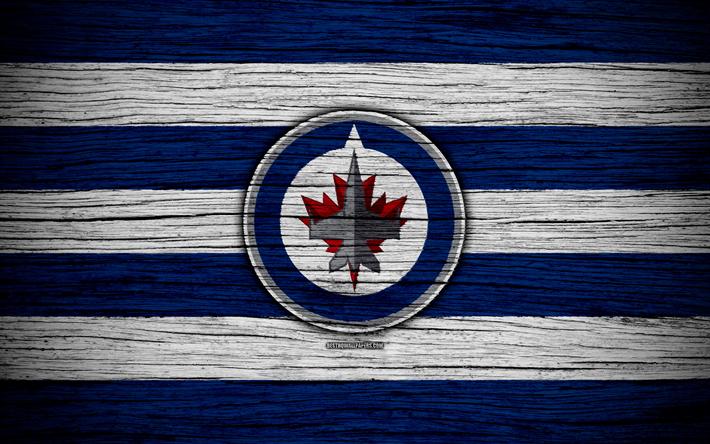 Download Wallpapers Winnipeg Jets 4k Nhl Hockey Club