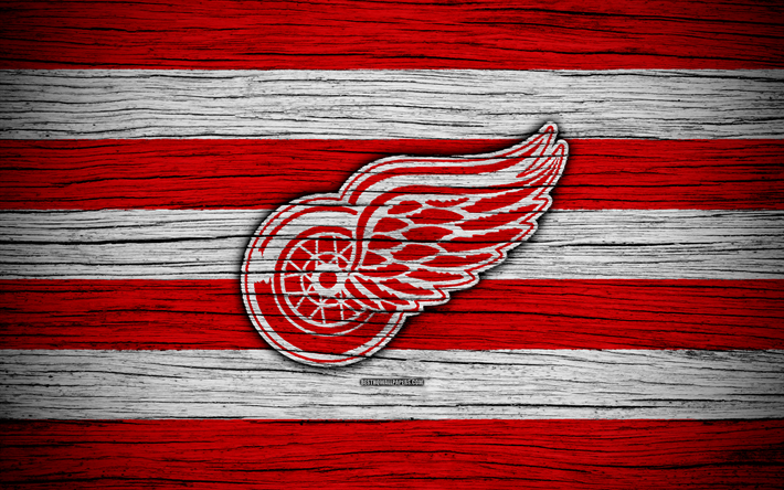 Detroit Red Wings 4k NHL Hockey Club Eastern Conference USA