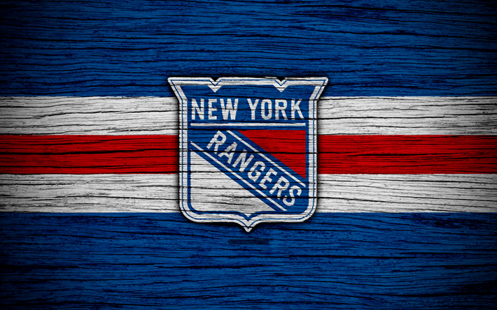 New York Rangers, 4k, NHL, hockey club, NY Rangers, Eastern Conference