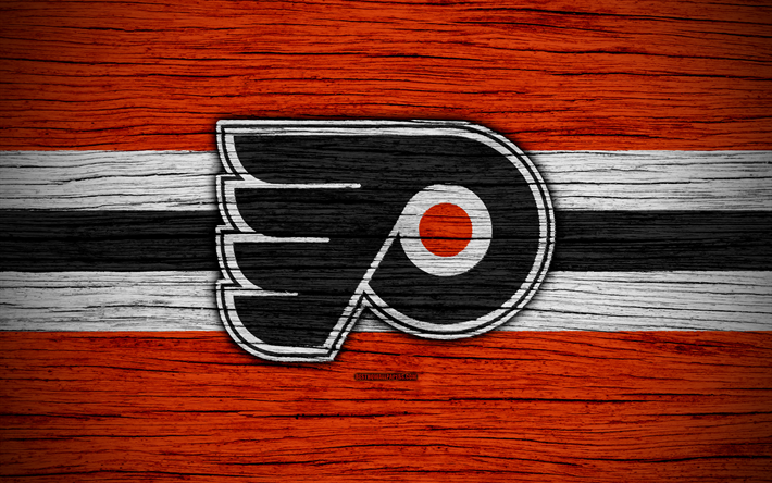 Philadelphia Flyers Wallpapers Wallpapertag: Download Wallpapers Philadelphia Flyers, 4k, NHL, Hockey