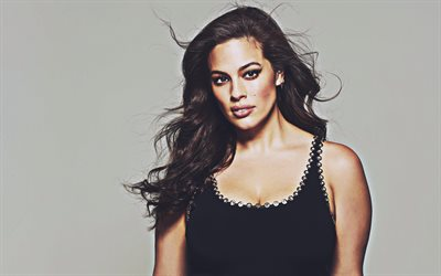 4k, Ashley Graham, 2019, american models, beauty, american celebrity, Ashley Ann Graham, Hollywood, Ashley Graham photoshoot
