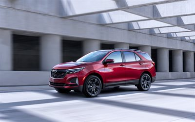 Chevrolet Equinox RS, 4k, street, 2020 cars, SUVs, 2020 Chevrolet Equinox, american cars, Chevrolet