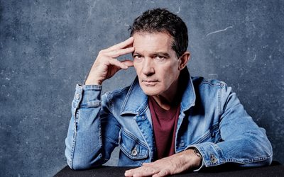 Antonio Banderas, spanish actor, portrait, photoshoot, popular actors, Hollywood star
