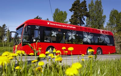 Van Hool A330, city bus, A330 Fuel Cell, passenger buses, city transport, eco buses, Van Hool