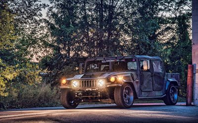 Mil-Spec Automotive, tuning, Hummer H1, Suv, auto americane, conserviera H1 Hummer