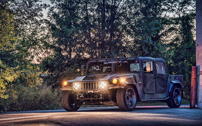 Mil-Spec Automotive, tuning, Hummer H1, SUVs, american cars, tunned H1, Hummer