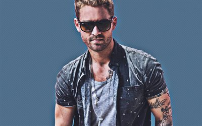 Brett Young, 2019, superstars, american singer, guys, american celebrity, Brett Young photoshoot