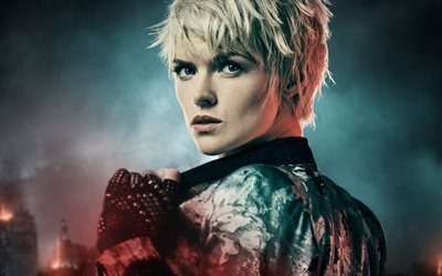 Gotham, 2019, Season 5, Erin Richards, Barbara Kean, poster, promotional materials, main characters