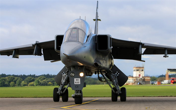 Sepecat Jaguar, British caccia-bombardiere, Royal Air Force Britannica aerei militari, RAF