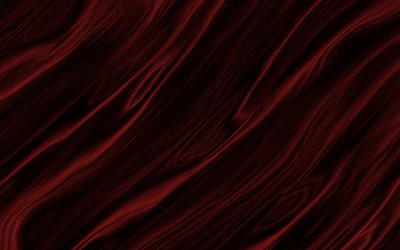 red waves background, waves texture, creative dark red background, waves, red wavy texture, red relief texture