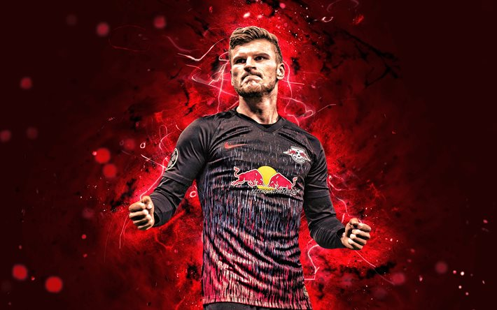 Download Wallpapers 4k Timo Werner 2020 Rb Leipzig German Footballers Goal Germany Joy Soccer Werner Bundesliga Football Neon Lights Timo Werner 4k For Desktop Free Pictures For Desktop Free