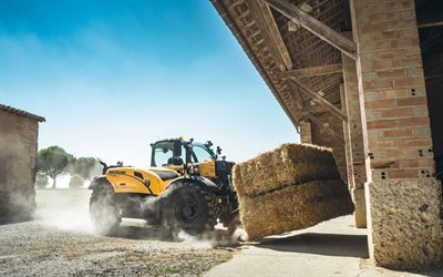 New Holland TH7-42 Elite, 4k, telescopic handlers, 2020 tractors, special machinery, HDR, New Holland