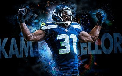 Kam Chancellor, NFL, fan art, Seattle Seahawks, american football