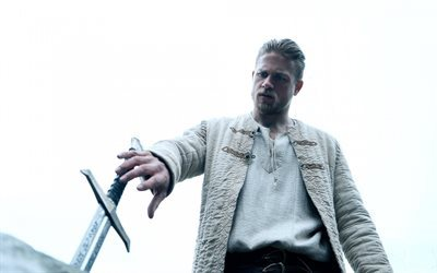 King Arthur, Legend of the Sword, 2017, Charlie Hunnam, sword