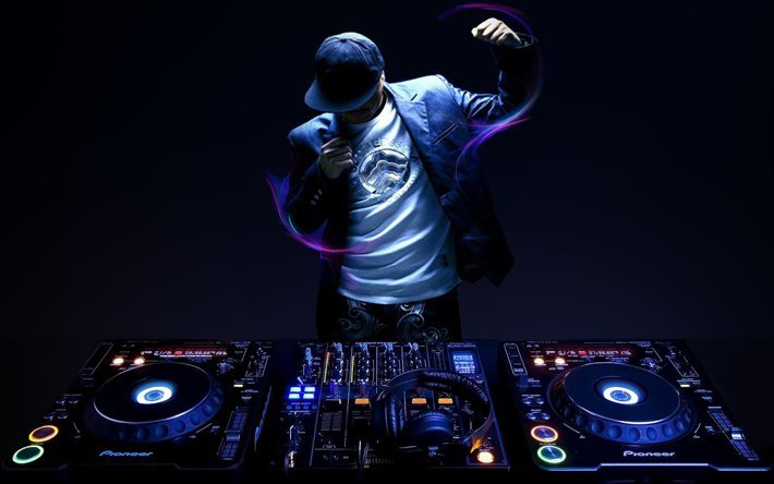 DJ, night club, dj console, concert, musician, DJs