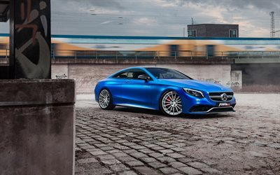 Mercedes-AMG S63, supercars, 2017 cars, Fostla, tuning, german cars, Mercedes