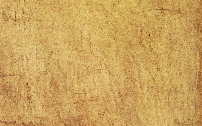 Download wallpapers old paper texture, brown paper
