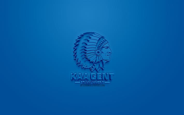 Descargar Fondos De Pantalla Kaa Gent Creativo Logo En 3d