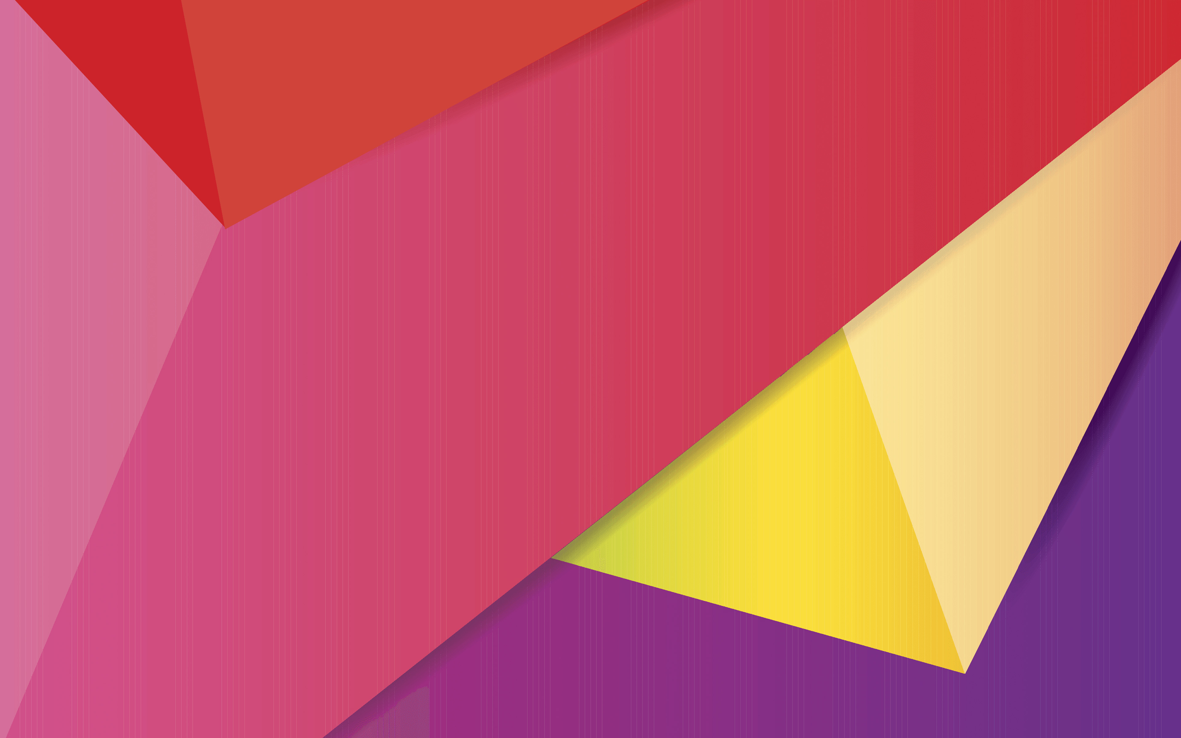 4k, geometric shapes, purple and violet, material design, lollipop, triangles, creative, strips, geometry, colorful backgrounds