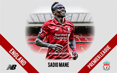 Sadio Mane, Liverpool FC, Senegalese football player, midfielder, Anfield, Premier League, England, football, Liverpool