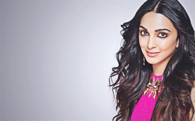 Kiara Advani, 4k, smile, Bollywood, indian actress, portrait, beauty, brunette woman, Kiara Advani photoshoot
