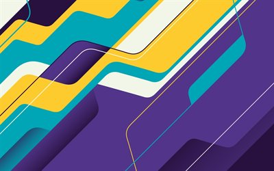 colorful abstract waves, material design, creative, colorful backgrounds, colorful waves, lines, wavy backgrounds, colorful wavy background