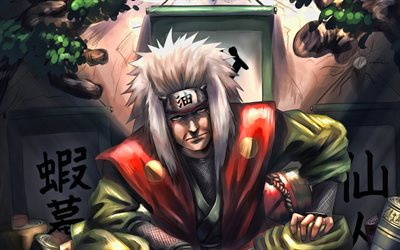 Download Wallpapers Jiraiya Naruto For Desktop Free High