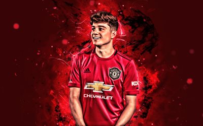 Download Wallpapers 4k Daniel James 2019 Manchester United Fc Welsh Footballers Neon Lights Premier League Daniel Owen James Soccer Football Man United For Desktop Free Pictures For Desktop Free