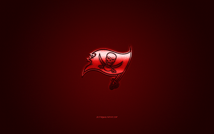 download wallpapers tampa bay buccaneers american football club nfl red logo red carbon fiber background american football tampa florida usa national football league tampa bay buccaneers logo for desktop free pictures for download wallpapers tampa bay