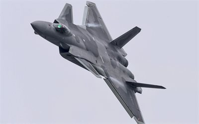 Chengdu J-20, Chinese Air Force, Chinese Fighter, modern military aircraft, combat aircraft, China