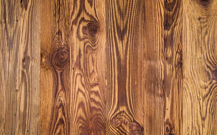 Download Wallpapers Brown Wooden Texture 4k Wooden