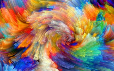 abstract vortex, colorful abstract waves, macro, colorful backgrounds, colorful waves, creative, wavy backgrounds, colorful strips