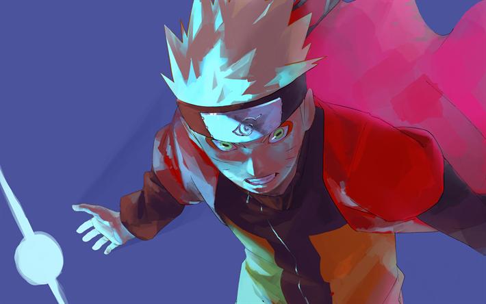 Download Wallpapers 4k Naruto Uzumaki Abstract Art Naruto