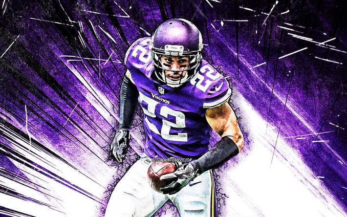 Download Wallpapers 4k Harrison Smith Grunge Art Safety Minnesota Vikings American Football Nfl National Football League Violet Abstract Rays Harrison Smith Minnesota Vikings Harrison Smith 4k For Desktop Free Pictures For Desktop