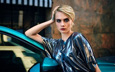 Cara Delevingne, british fashion model, photoshoot, portrait, british actress, british star