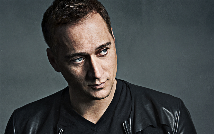 Paul van Dyk, portrait, photo shoot, german dj, black jacket, Matthias Paul