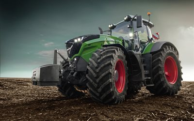 Fendt 1050 Vario, 2020 tractors, plowing field, agricultural machinery, EU-spec, HDR, tractor in the field, agriculture, Fendt