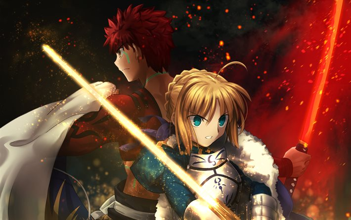 Sengo Muramasa, Emiya Shirou, Fate Grand Order, Sabre, manga, Fate Series, arte, TYPE-MOON, Fate Stay Night