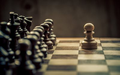 chess, pawn, chess pieces, leadership