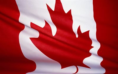 Canadian Flag, Canada, North America, flags