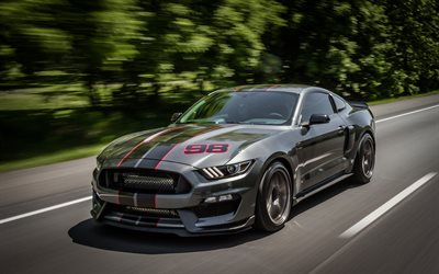 Download Wallpapers 4k Ford Mustang Shelby Gt350 2018