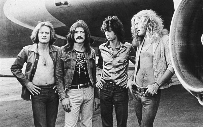 Led Zeppelin Jimmy Page John Bonham Robert Plant Paul Jones