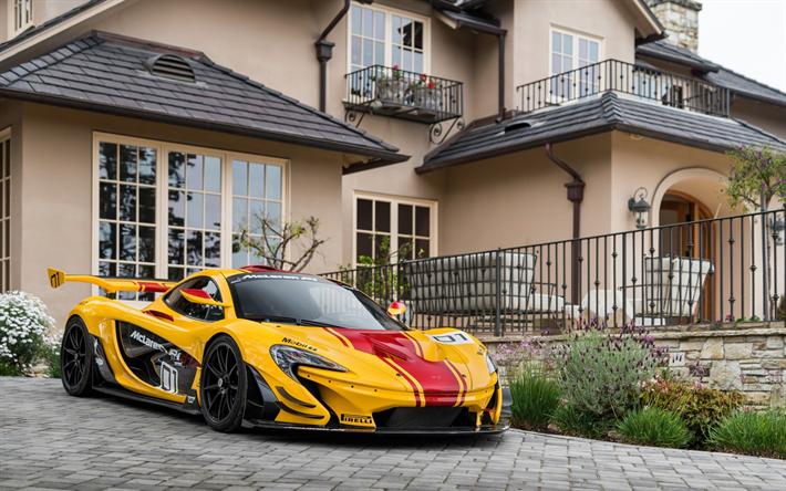 Download Wallpapers Mclaren P1 Gtr 2017 Hypercar Racing Version